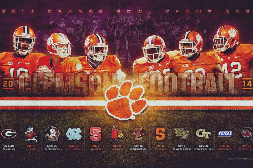 Clemson Football Wallpapers HD, Custom HD 46 Clemson Football HD .
