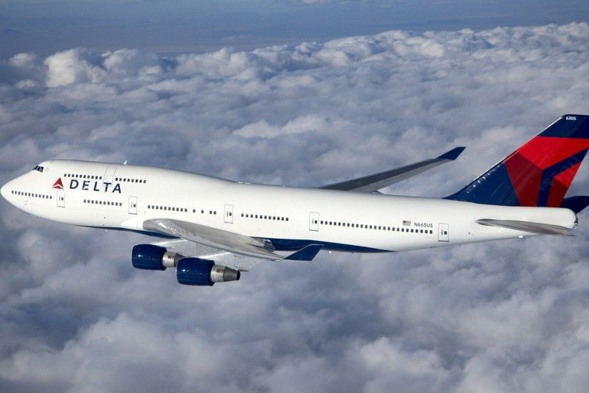 Boeing 747 airliner HD wallpapers #8 - 1920x1080.