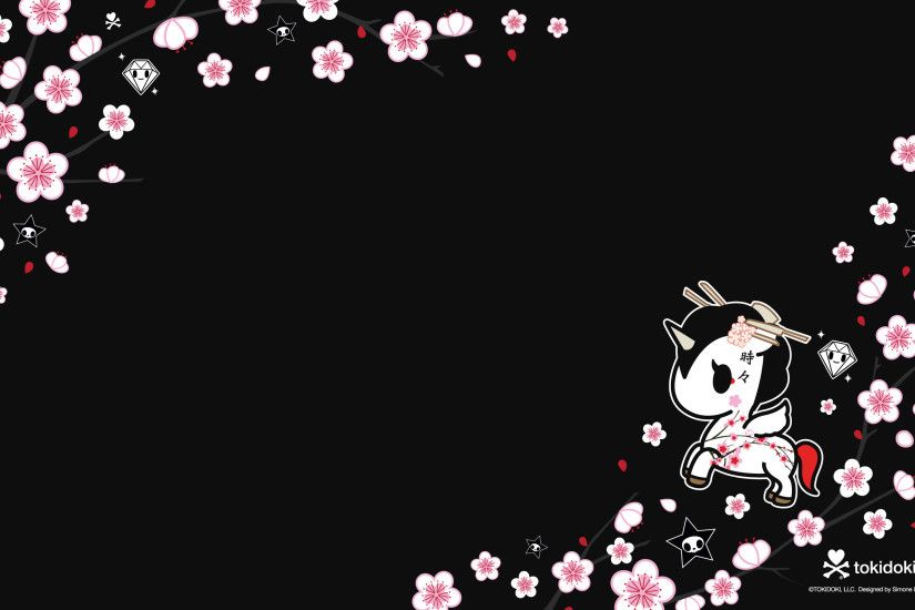 Sakura Black Desktop 2560x1600