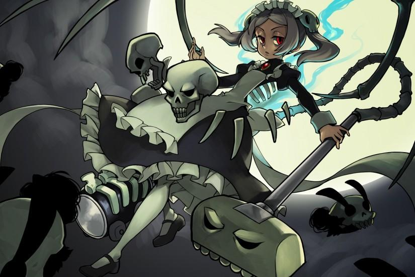 90 best images about Skull Girls on Pinterest | Not enough .
