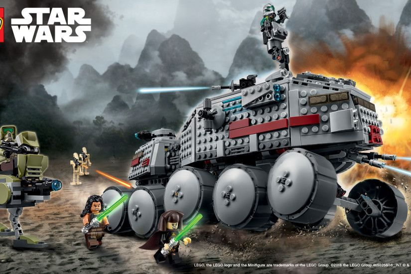 Landscape · Vertical. Download the LEGO Star Wars 75151 Clone Turbo Tank™  Wallpaper