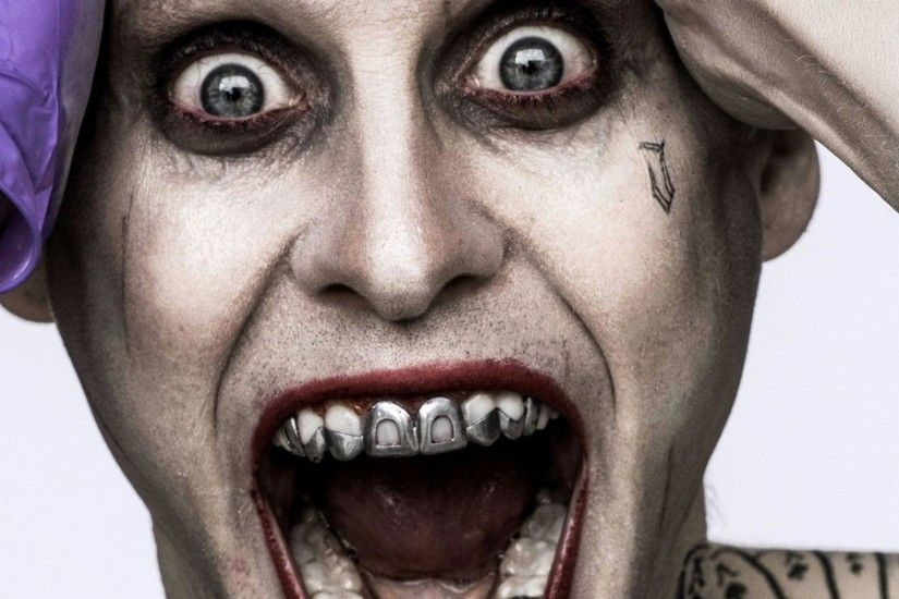 Download Wallpaper 3840x1200 Suicide squad, Joker, Jared leto Dual .