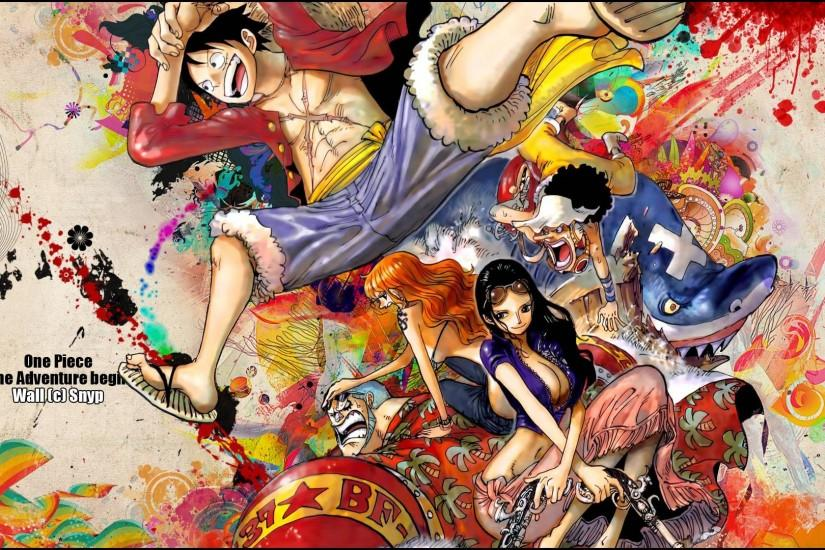 One Piece Wallpapers High Quality Download Free 1920×1200 One Piece HD  Wallpapers (44