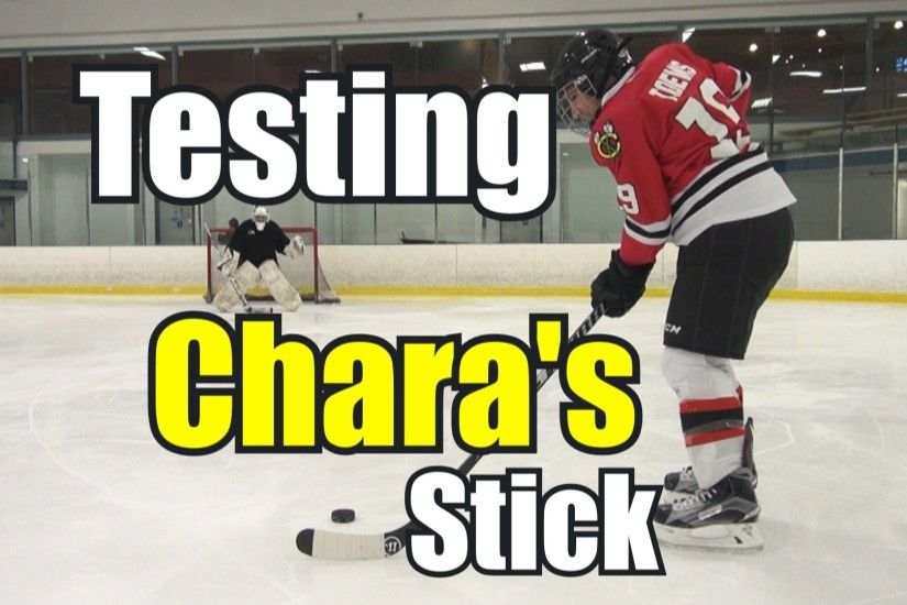 A couple of months ago I was browsing Pro Stock Hockey and saw that they  had a Zdeno Chara hockey stick up for grabs. At 69″ long (from butt end to  heel) ...