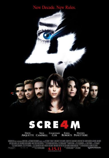 Scream 4 2011 TS XviD Feel-Free poster-scream4