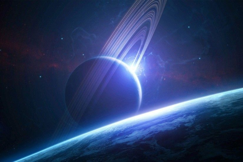 Earth Fantasy Planet Wallpaper Wide or HD | Fantasy Wallpapers