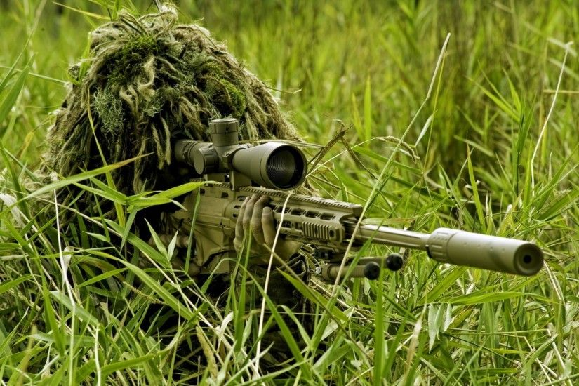 wallpaper sniper · Remington · ghillie suit