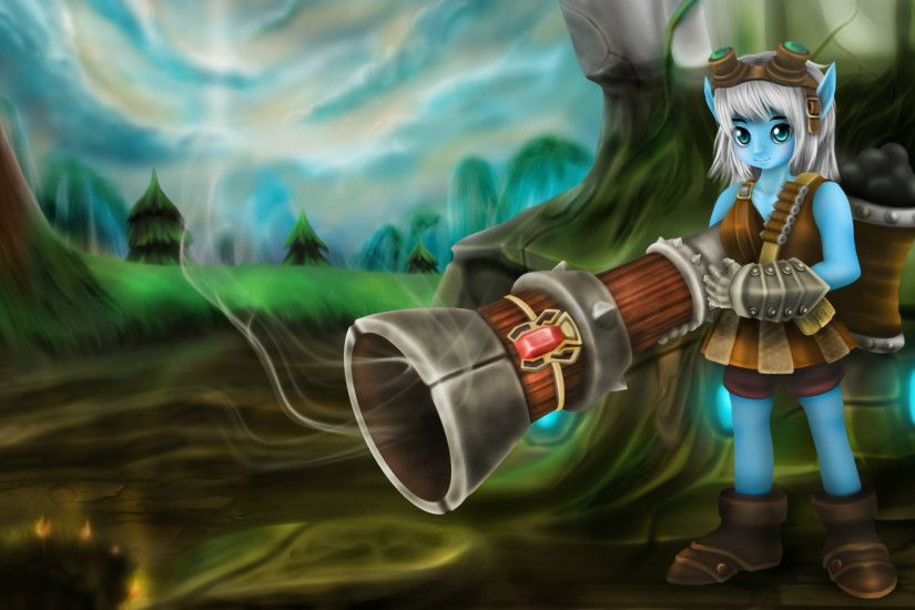 Video Game - League Of Legends Tristana (League Of Legends) Wallpaper