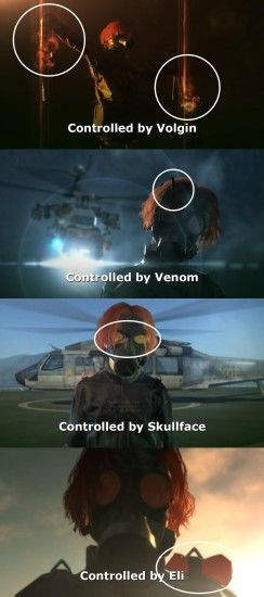 Interesting detail about Psycho Mantis in MGSV #MetalGearSolid #mgs #MGSV  #MetalGear #Konami #cosplay #PS4 #game #MGSVTPP