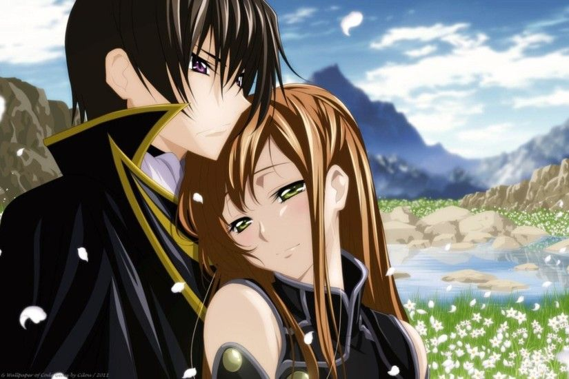 Anime Love Couples Anime Wallpapers HD | 3D Anime Couple .