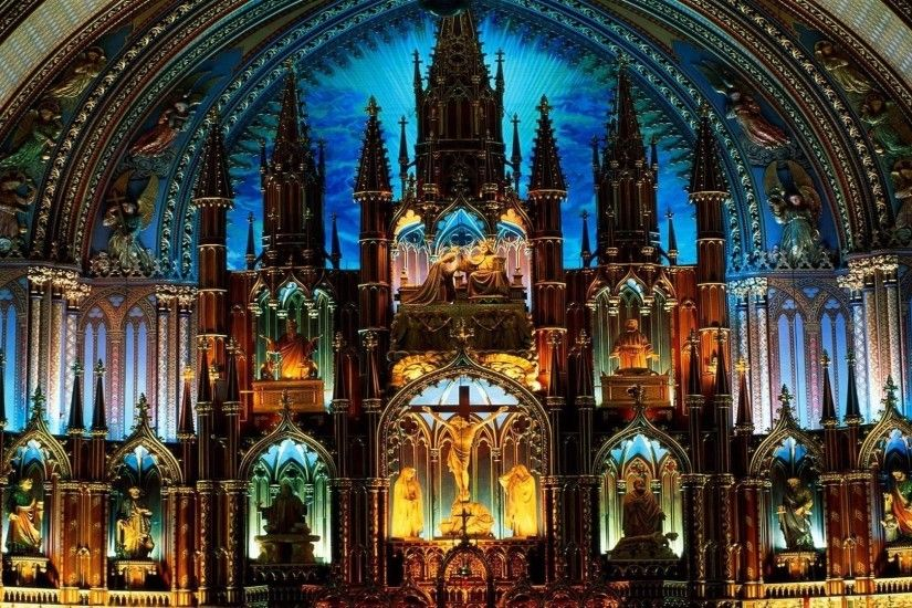 HD Wallpaper | Background ID:299392. 1920x1080 Religious Notre-Dame Basilica  ...