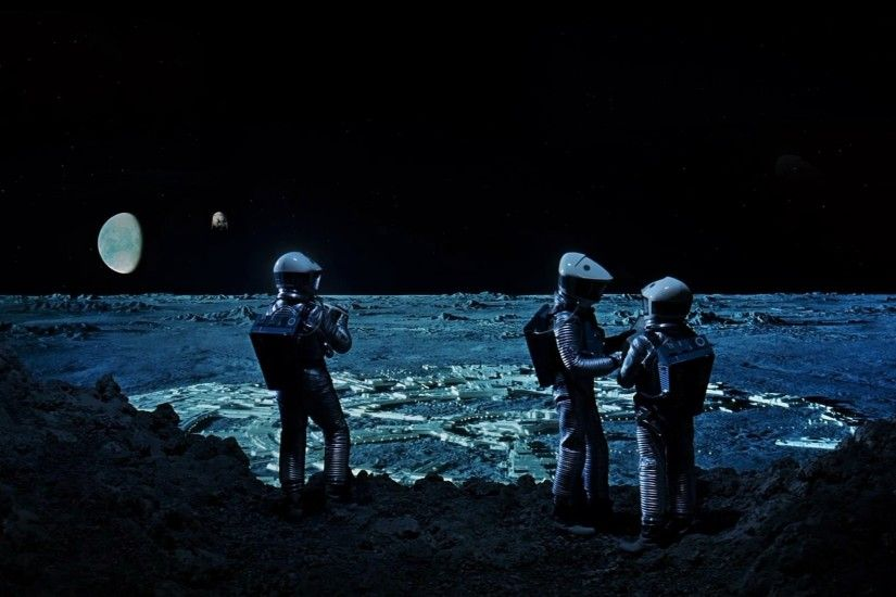 2001: A Space Odyssey Astronaut Moon · HD Wallpaper | Background ID:207783
