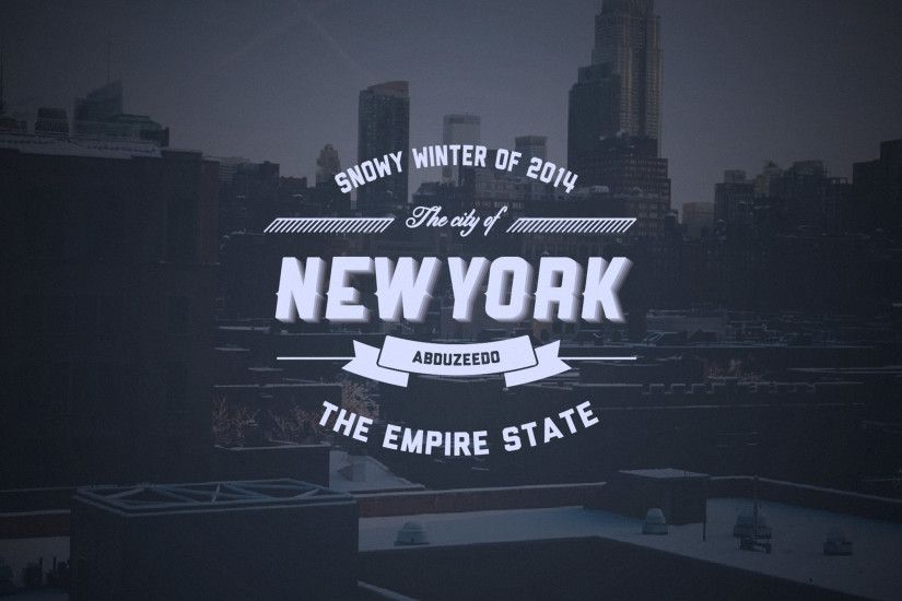 Abduzeedo's iPad wallpaper of the week - Typographic Logo