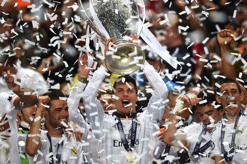 Preview wallpaper real madrid, champions league, football 1920x1080