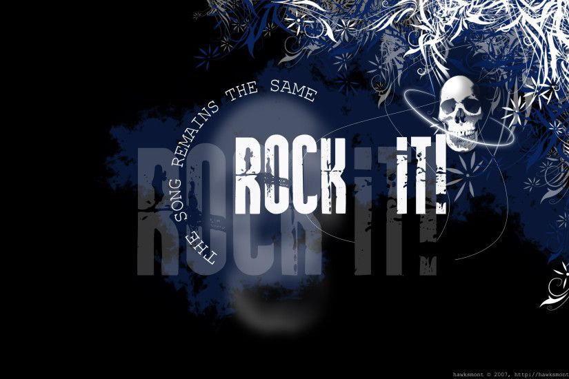 ROCK IT - 2560x1600 by hawksmont ...