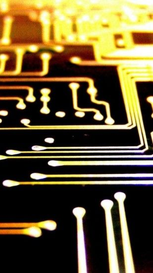 Printed Circuit Board Lockscreen iPhone 6 Plus HD Wallpaper -  http://freebestpicture.