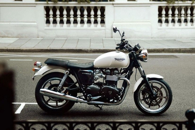 Triumph Bonneville Wallpaper 28292 Wallpapers | Wallver.