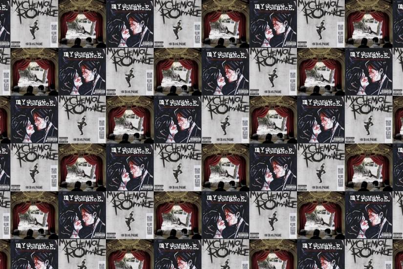 My Chemical Romance Three Cheers For Sweet Revenge Wallpaper Â« Tiled  Desktop Wallpaper