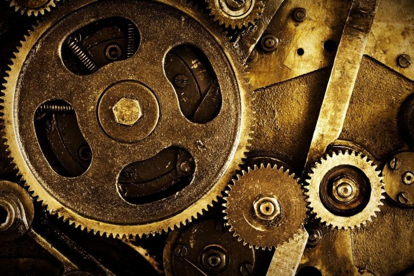 Clock Gears Wallpaper