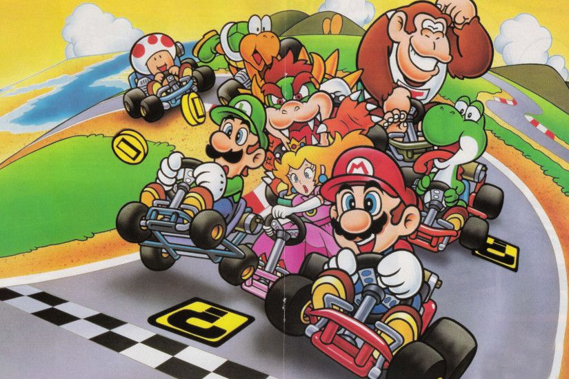 Video Game - Super Mario Kart Wallpaper