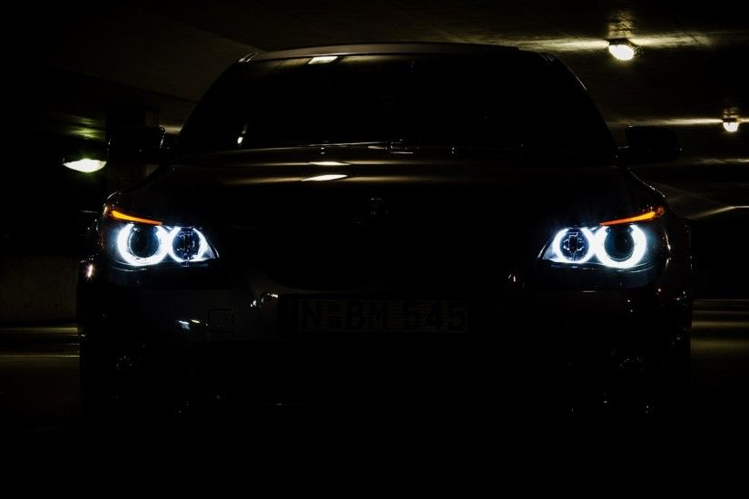 Angel Eyes Automobile BMW Bmw 5 Series E60 Cars Lights Vehicles