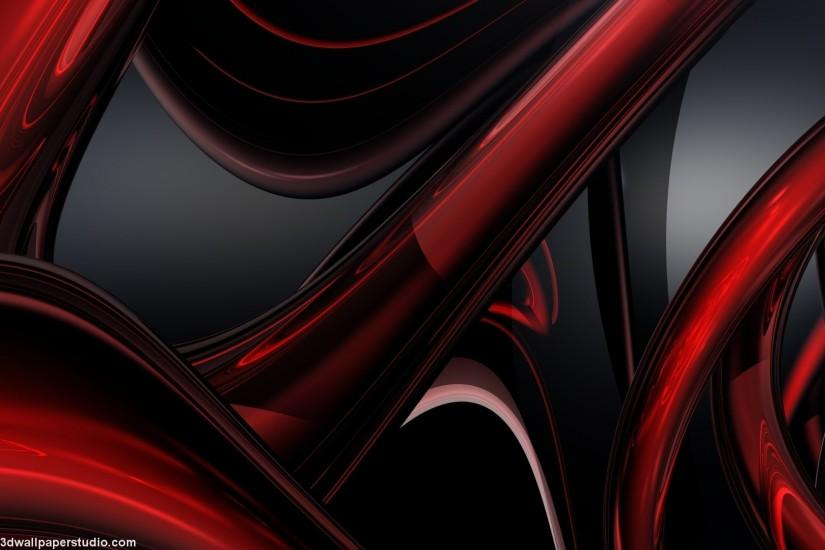 Red digital abstract wallpaper in 1920x1080 screen resolution