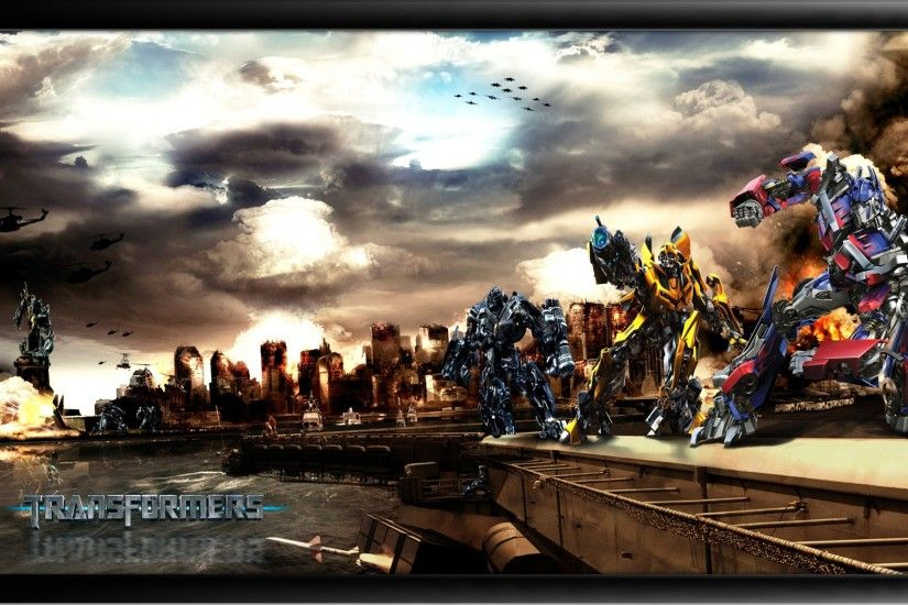 Transformers Autobot Vs Decepticons Wallpaper Transformers 2 Movies  Wallpapers