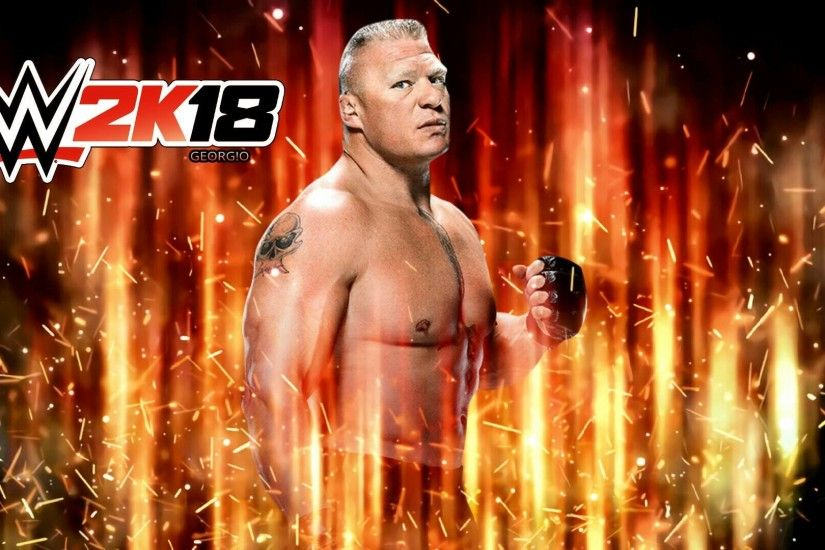 ... WWE 2K18 -Brock Lesnar by BlackIndian36