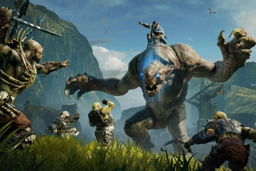 Fantastic Shadow of Mordor Wallpaper