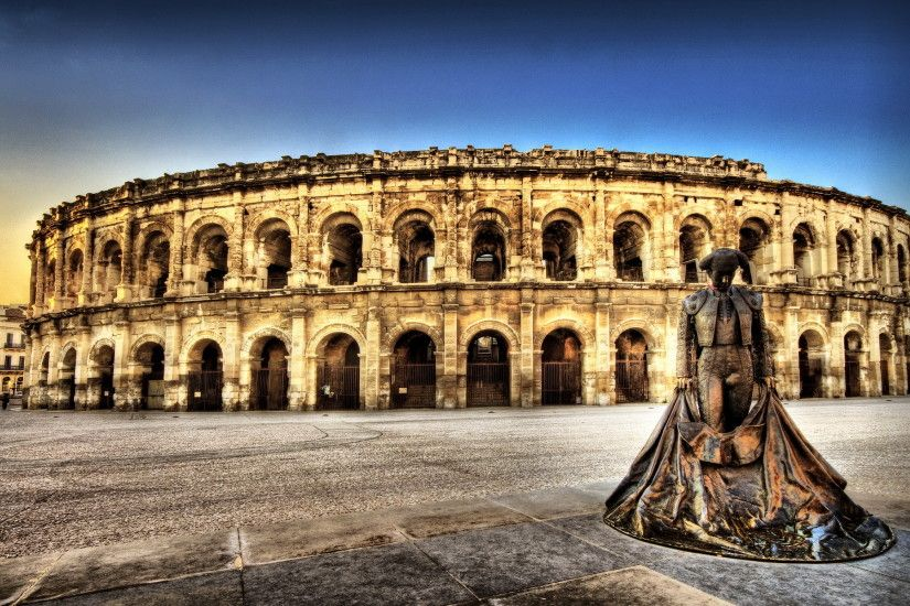 ... Colosseum Rome At Night Wallpaper | HD Desktop Wallpapers | Pinterest  ...
