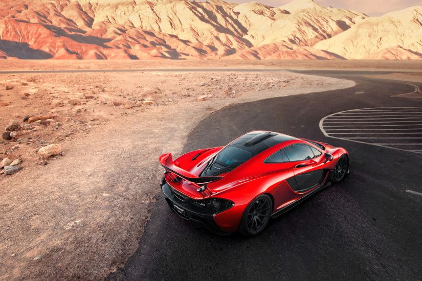 McLaren P1 Death Valley