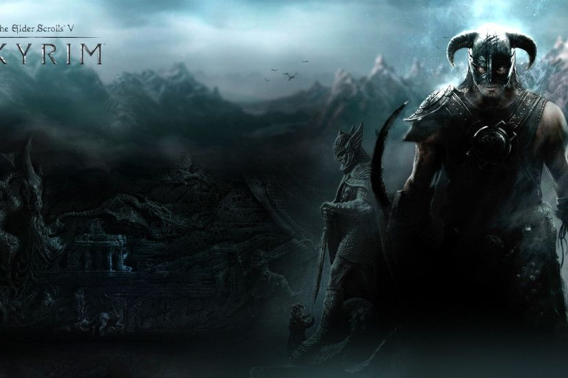 Skyrim Wallpaper by Revan1337.