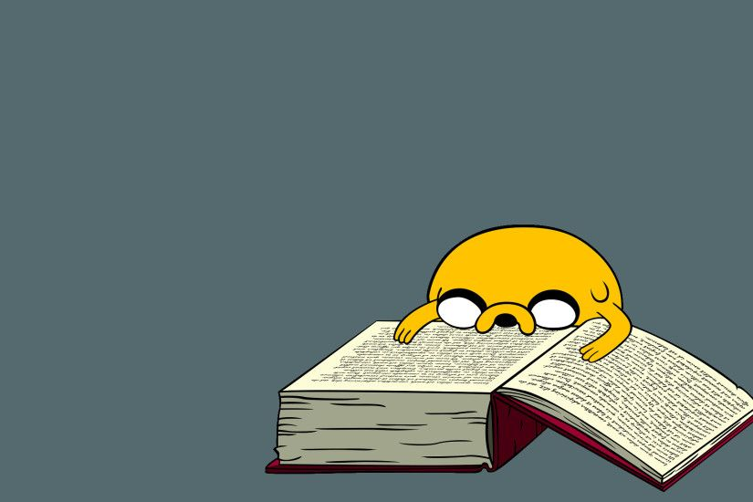 TV Show - Adventure Time Book Cartoon Humor Funny Cute Jake the Dog  Wallpaper