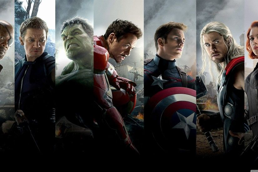 The Avengers Age of Ultron Team HD Wide Wallpaper for 4K UHD Widescreen  desktop & smartphone
