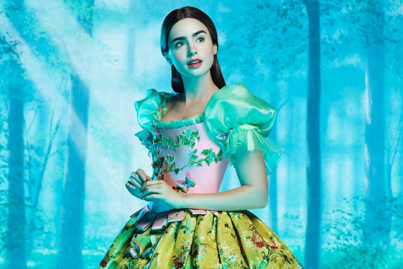 Lily Collins As Snow White Wallpapers | HD Wallpapers