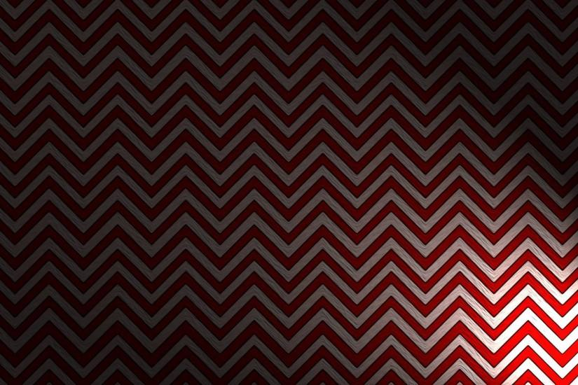 A Black Lodge-inspired wallpaper ...
