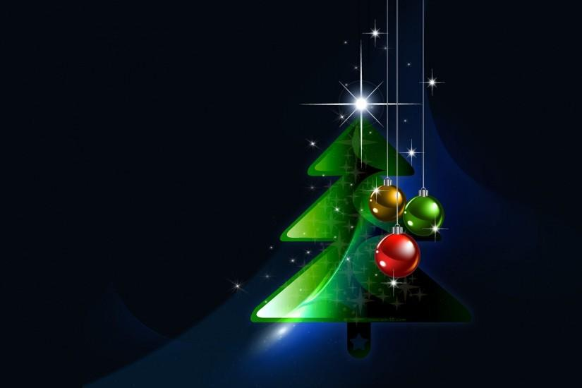 Merry christmas and happy new year tree wallpaper