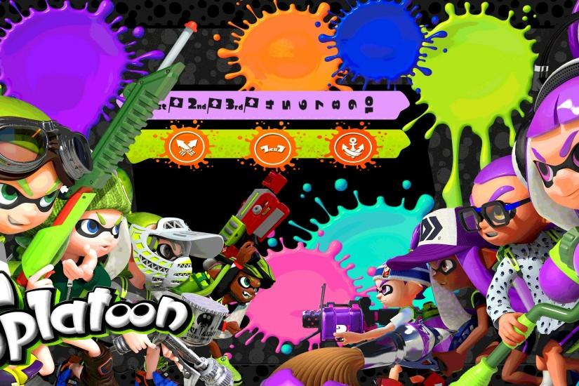 splatoon wallpaper 2000x1100 for iphone 7