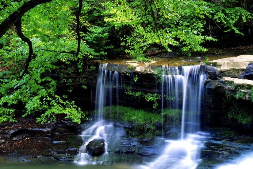 ... 1000 ideas about Waterfall Wallpaper on Wallpaper Gallery | City ...