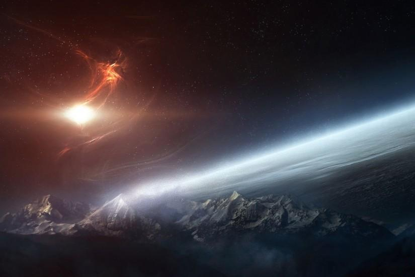 space desktop backgrounds 1920x1080 for hd 1080p