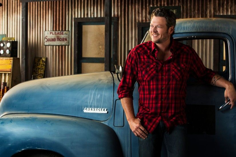 Music - Blake Shelton Country Music Truck Wallpaper
