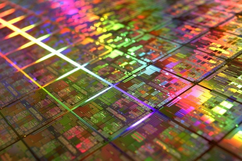 colorful, Microchip, DIE, Gold, Technology, Geometry, IT, CPU