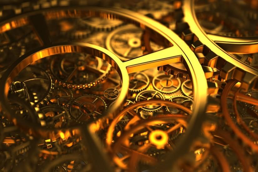 Clockworks and Gears by xQUATROx.deviantart.com on @deviantART