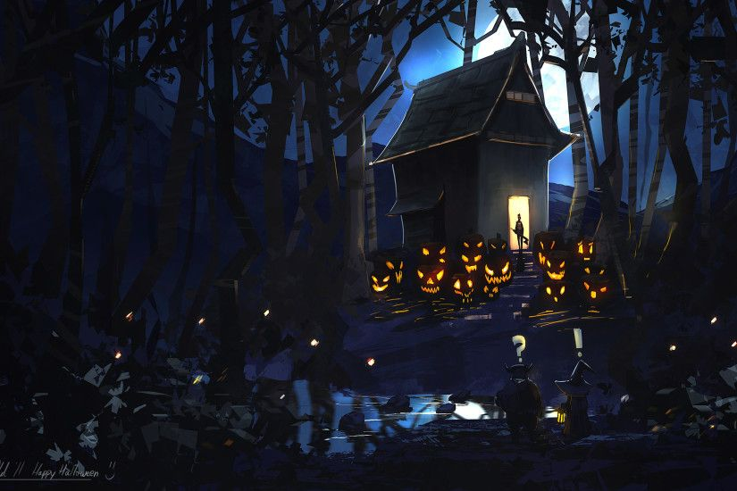 Photo Collection Halloween Scary Wallpaper 20141