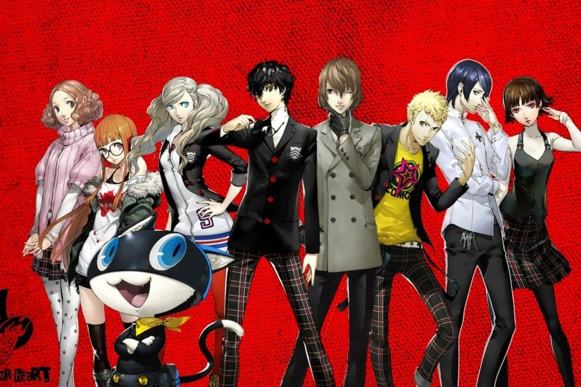 Persona 5 Hd Iphone Wallpapers 3F2