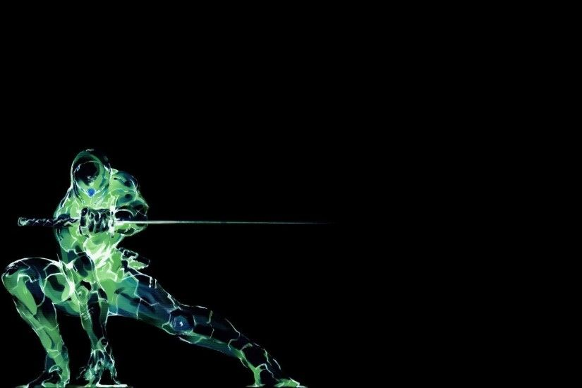 video Games, Grey Fox, Metal Gear Solid, Black Background, Simple  Background, Ninjas, Cyborg Wallpapers HD / Desktop and Mobile Backgrounds