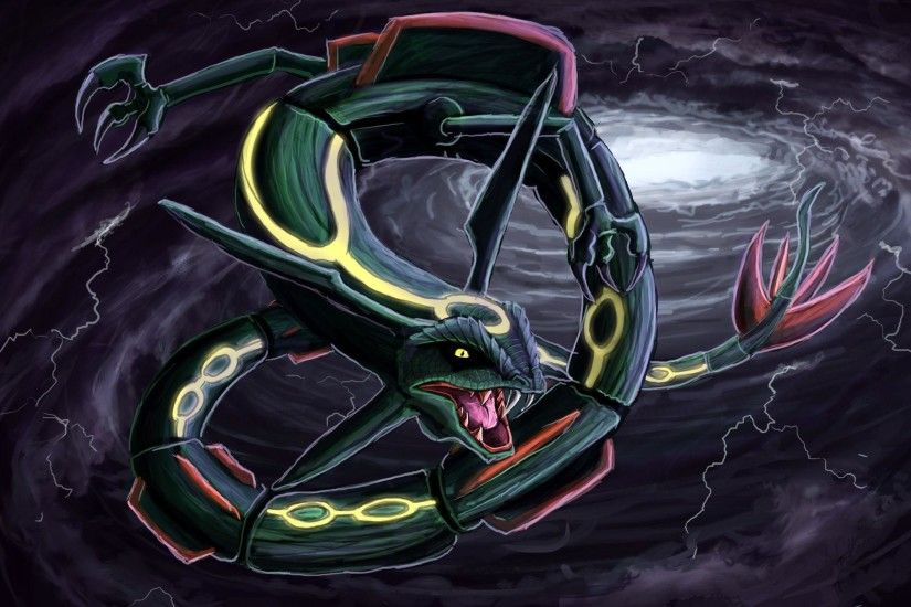 Pokemon Wallpaper Shiny Rayquaza - Viewing Gallery