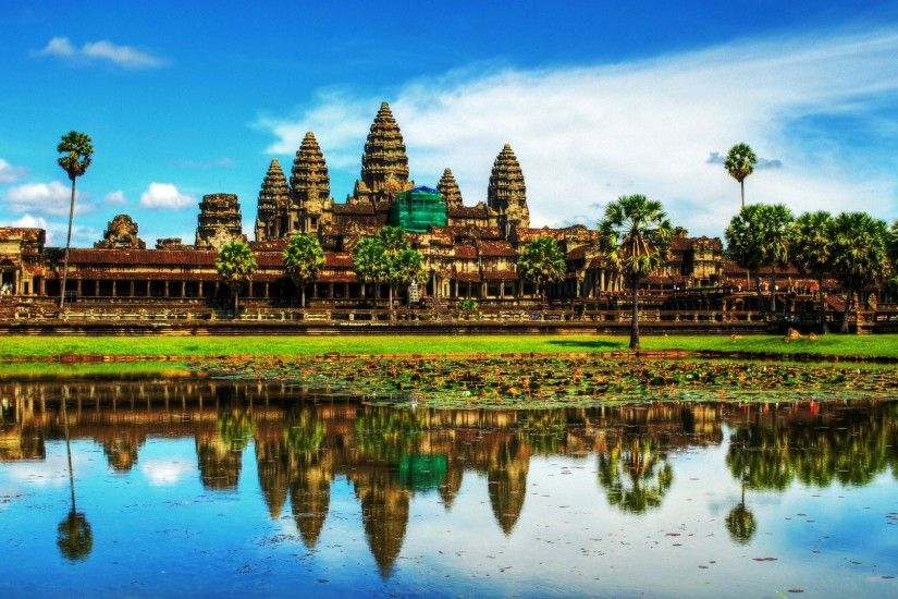 Daily Wallpaper: Angkor Wat, Cambodia | I Like To Waste My Time