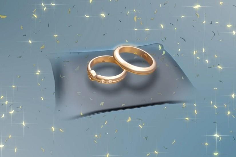 Rings and Stars for Wedding