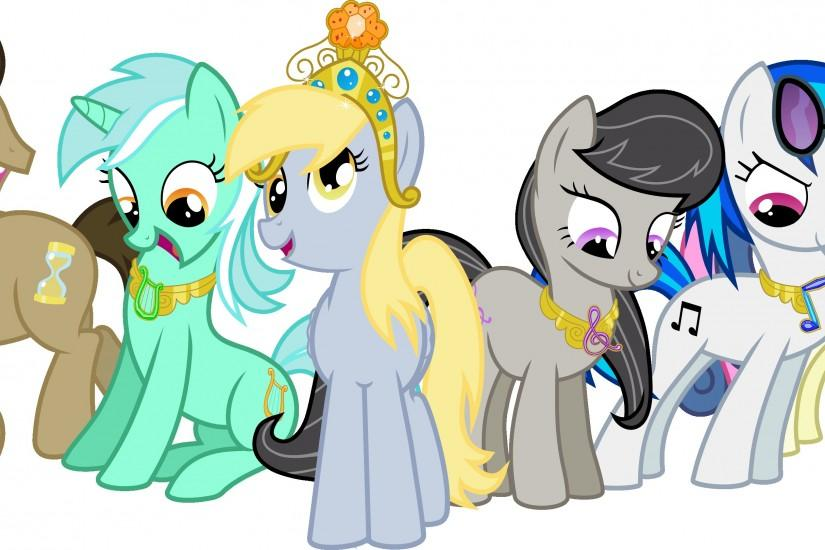 The Background Mane 6 Elements of Harmony | My Little Pony: Friendship is  Magic | Know Your Meme